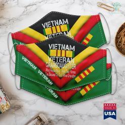 Famous Vietnam Photos Military Grandpa Blessed Vietnam Veteran Granddaughter Gift Face Mask Gift %tag familyloves.com