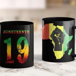 Founder Of Black Lives Matter Juneteenth Ancestors Black African Map American Pride Gift 11Oz 15Oz Black Mug %tag familyloves.com