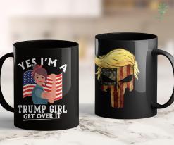 Funny Trump Merchandise Trump 2020 Im A Trump Girl Trump Gift For Women 11oz Coffee Mug %tag familyloves.com
