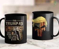 Funny Trump T Shirts Trump 45 Greater Than 44 Gun Rights 2Nd Amendment Usa Elect 11oz Coffee Mug %tag familyloves.com