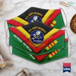Furniture Donation Boston U.S. Navy Seabees Vietnam Veteran Face Mask Gift %tag familyloves.com