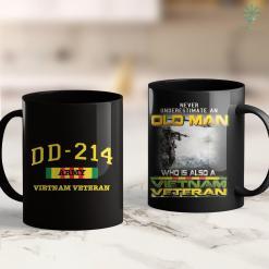 Hats Vietnam Veteran Vietnam Veteran Proud Vietnam War Vets Clothing 11Oz 15Oz Black Coffee Mug %tag familyloves.com
