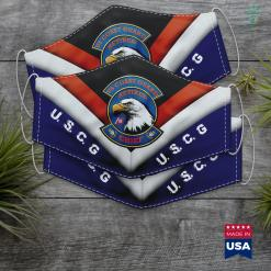 Homeland Security Coast Guard Coast Guard Chief Petty Officer Eagle Face Mask Gift %tag familyloves.com