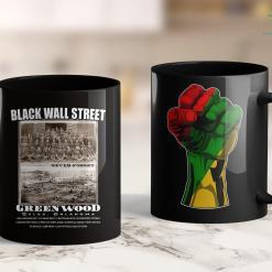 Leader Of Black Lives Matter Black Wall Street - Vintage History Before And After Photos 11Oz 15Oz Black Mug %tag familyloves.com