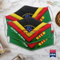 Monuments Vietnam 23Rd Infantry Division Vietnam Veteran Face Mask Gift %tag familyloves.com