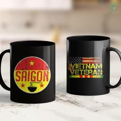Pick Up Donation Saigon Ho Chi Minh Vietnam Vintage Flag Pho Souvenir Gift 11Oz 15Oz Black Coffee Mug %tag familyloves.com