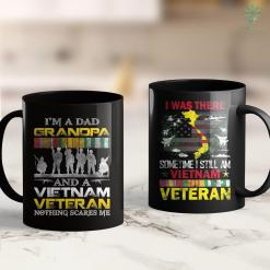 Pick Up For Veterans Im A Dad Grandpa And Vietnam Veteran Us Veterans Day 11Oz 15Oz Black Coffee Mug %tag familyloves.com