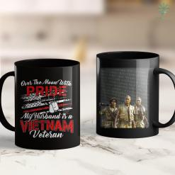 Please Pick Up Over The Moon With Pride My Husband Is A Vietnam Veteran Tee 11Oz 15Oz Black Coffee Mug %tag familyloves.com