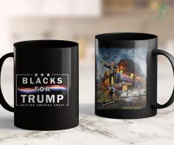 Pro Trump T Shirts Blacks For Trump Keeping America Great Blacks For Trump 11oz Coffee Mug %tag familyloves.com