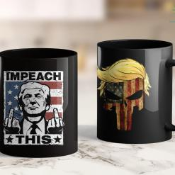 Trump 2020 Ad Trump Impeach This Usa Vintage 11oz Coffee Mug %tag familyloves.com
