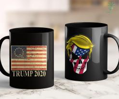 Trump 2020 Ad Youtube Qanon Conspiracy Trump 2020 Q 1776 Betsy Ross American Flag 11oz Coffee Mug %tag familyloves.com
