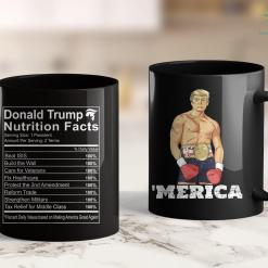 Trump 2020 Astrology Donald Trump Nutrition Facts Make America Great 11oz Coffee Mug %tag familyloves.com