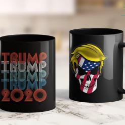 Trump 2020 Bucket Hat Retro Repeat Trump 2020 11oz Coffee Mug %tag familyloves.com