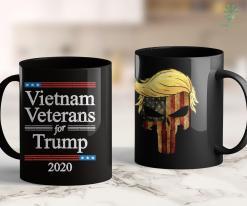 Trump 2020 Campaign Slogan Vietnam Veterans For Trump 2020 Usa Flag Republican Gop Gift 11oz Coffee Mug %tag familyloves.com