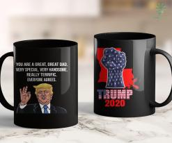 Trump 2020 Election Mens Funny Donald Trump Fathers Day Great Dad Gift 11oz Coffee Mug %tag familyloves.com