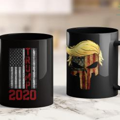 Trump 2020 Flag 4X6 Vintage Usa Flag 2020 Election Gifts Donald Trump 11oz Coffee Mug %tag familyloves.com