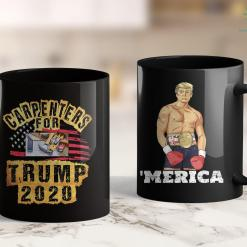 Trump 2020 Flag Amazon Carpenters Trump America President 2020 11oz Coffee Mug %tag familyloves.com