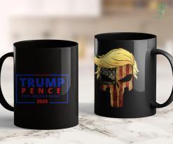 Trump 2020 Flag Free Trump Pence Campaign Logo Keep America Great Rally 11oz Coffee Mug %tag familyloves.com