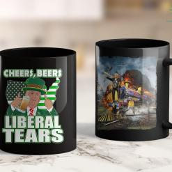 Trump 2020 Hat Walmart Best Trump St. Patricks Day Usa Cheers Beers Liberal Tears 11oz Coffee Mug %tag familyloves.com