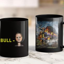 Trump 2020 Money Bull Schiff Funny Donald Trump Meme 11oz Coffee Mug %tag familyloves.com