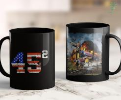 Trump 2020 Neck Gaiter 45 Squared Trump 2020 Gift Second Presidential Term Vintage 11oz Coffee Mug %tag familyloves.com