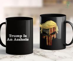 Trump 2020 Prediction Trump Is An Asshole - Minimalist Retro Typography 11oz Coffee Mug %tag familyloves.com