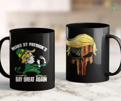Trump 2020 Presidential Campaign Trump Make St Patricks Day Great Again -Funny Irish Ts 11oz Coffee Mug %tag familyloves.com