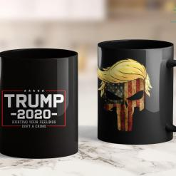 Trump 2020 Running Mate Trump 2020 Gifts Hurting Your Feelings Isnt A Crime 11oz Coffee Mug %tag familyloves.com