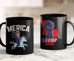 Trump 2020 Sticker Merica Trump Riding Unicorn Funny Reelect Vote Donald 2020 11oz Coffee Mug %tag familyloves.com