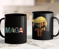 Trump 2020 Store Trump 2020 Voted Maga American Flag Retro Vintage Gift 11oz Coffee Mug %tag familyloves.com
