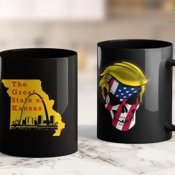 Trump Golf Shirt Funny Trump Cat Grab Em Vintage Retro Trump Gift 11oz Coffee Mug %tag familyloves.com