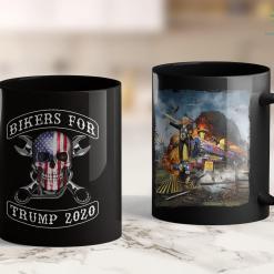 Trump Long Sleeve T Shirt Keep America Great 2020 President Donald Trump Tee 11oz Coffee Mug %tag familyloves.com