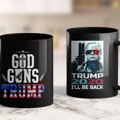 Trump On 2020 Re-Elect The Motherfucker President Trump 2020 Dont Impeach 11oz Coffee Mug %tag familyloves.com