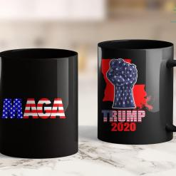 Trump T Shirts Amazon Quotveterans For Trumpquot With Black Horizontal Flag Design 11oz Coffee Mug %tag familyloves.com