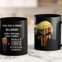 Trump Travel Mug My Dog For Trump 2020 English Springer Spaniel 11oz Coffee Mug %tag familyloves.com