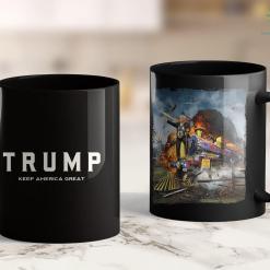 Trump 2020 Vp Q Donald Trump 2020 Presidential Campaign Wwg1Wga 11oz Coffee Mug %tag familyloves.com
