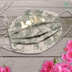 Us Army Belt Love Army Veterans Face Mask Gift %tag familyloves.com