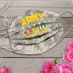 Us Army Gift Mens Vietnam Veteran Army Face Mask Gift %tag familyloves.com
