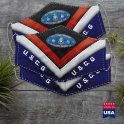 Us Coast Guard Boston Coast Guard Chief Petty Officer Semper Paratus Uscg Oval Face Mask Gift %tag familyloves.com