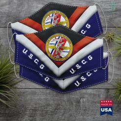 Us Coast Guard Recruiting Coast Guard Air Station Elizabeth City Face Mask Gift %tag familyloves.com