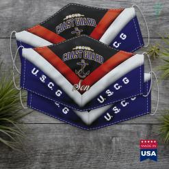 Us Coast Guard Station Coast Guard Son For Men And Boys Face Mask Gift %tag familyloves.com