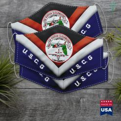 Us Coastal States Coast Guard Air Station Clearwater Fl Face Mask Gift %tag familyloves.com