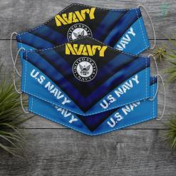 Us Navy Destroyer U.S. Navy Original Navy Logo Navy Gift Face Mask Gift %tag familyloves.com
