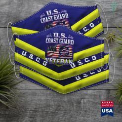 Uscg Headquarters U.S. Coast Guard Veteran Vet Face Mask Gift %tag familyloves.com