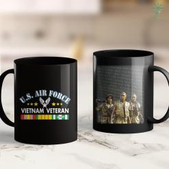 Veteran Of War Mens U.S. Air Force Vietnam Veteran Veterans Day Memorial Day 11Oz 15Oz Black Coffee Mug %tag familyloves.com