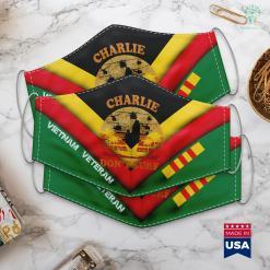 Veterans Donation Charlie Dont Surf Military Vietnam War Face Mask Gift %tag familyloves.com