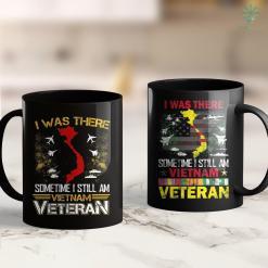 Veterans Clothing Pickup I Was There -Vietnam Veteran 11Oz 15Oz Black Coffee Mug %tag familyloves.com