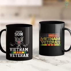 Veterans Donation Pickup Proud Son Of A Vietnam Veteran Vietnam Veterans Son 11Oz 15Oz Black Coffee Mug %tag familyloves.com