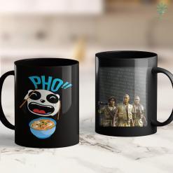 Veterans Donations Pick Up Pho Soup Vietnam Ramen Laughing Panda I Gift Idea 11Oz 15Oz Black Coffee Mug %tag familyloves.com