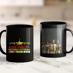 Veterans Furniture Donations Mens Vietnam Veteran Air Force 11Oz 15Oz Black Coffee Mug %tag familyloves.com